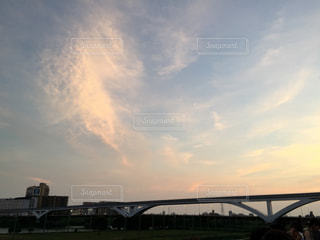 夏の夕暮れの写真・画像素材[1339284]