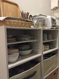 キッチン収納の写真・画像素材[1342747]