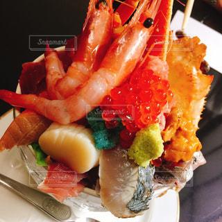 海鮮丼の写真・画像素材[1333757]