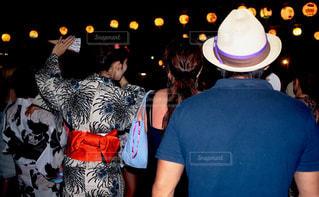 葉山の浜の盆踊りの写真・画像素材[1416612]