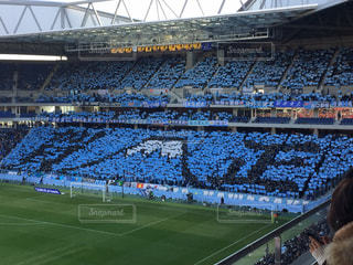 サッカースタジアムの写真・画像素材[1341435]