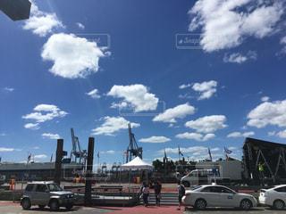 オークランドの港の写真・画像素材[1334745]