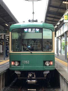 江ノ電 鎌倉駅の写真・画像素材[1345932]