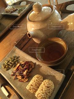 お茶タイムの写真・画像素材[1345744]