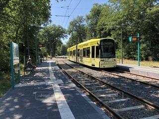 フランクフルトの鉄道の写真・画像素材[1335179]