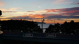 玄界灘の夕焼けの写真・画像素材[1335414]