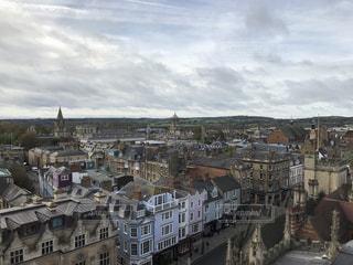 オックスフォードの街並みの写真・画像素材[1346315]
