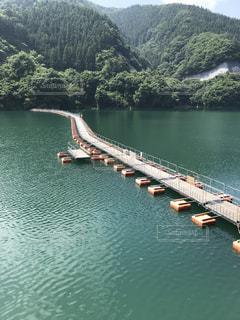 ドラム缶橋の写真・画像素材[1336163]