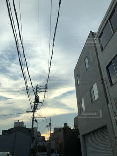夏の夕方の写真・画像素材[1352552]