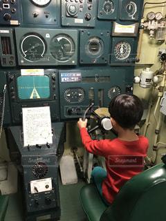 潜水艦の写真・画像素材[1345688]