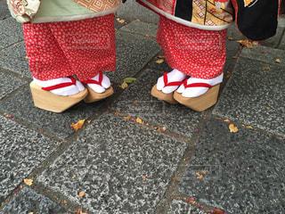 京都2人旅の写真・画像素材[1338446]