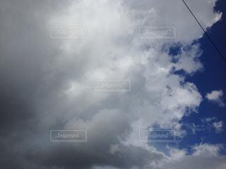 台風の後の空。の写真・画像素材[1341456]
