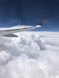 飛行機の中からの写真・画像素材[1338442]
