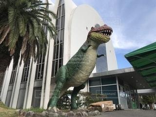 ティラノサウルスの写真・画像素材[1387084]