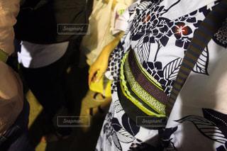 紫陽花柄の浴衣の写真・画像素材[1340992]