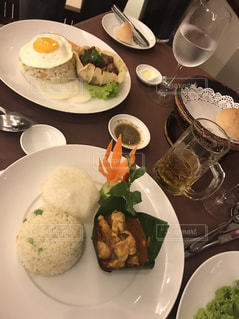 ホテルで食べたカンボジア料理の写真・画像素材[1458283]