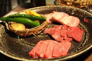 温泉旅館の夕食の写真・画像素材[1521968]