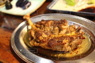 高松で食べた骨付鶏の写真・画像素材[1529380]