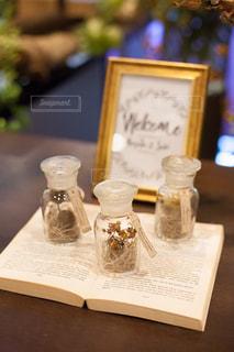結婚式のウェルカムスペースの写真・画像素材[1555740]