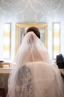 結婚式直前の写真・画像素材[1556851]