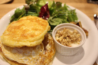 札幌で食べたパンケーキの写真・画像素材[1557259]