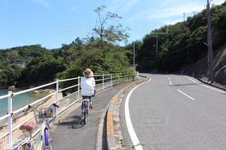 直島でサイクリングの写真・画像素材[1560963]