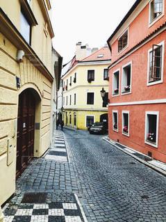チェコの街並みの写真・画像素材[1573411]
