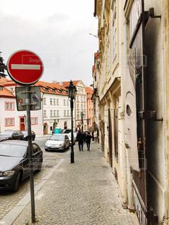 チェコの街並みの写真・画像素材[1573413]