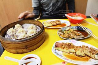 台湾の大衆食堂で食べた朝食の写真・画像素材[1579836]