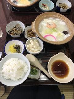 佐賀県で食べた湯豆腐定食の写真・画像素材[1592671]