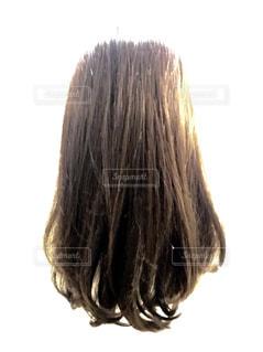 トリートメント後の髪の毛の写真・画像素材[1609770]