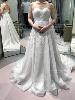 ウェディング ドレスを着た女性の写真・画像素材[1622255]