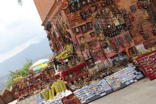 ネパールのお土産屋さんの写真・画像素材[1625357]