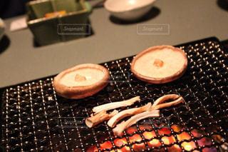 旅館で食べた椎茸の写真・画像素材[1641391]