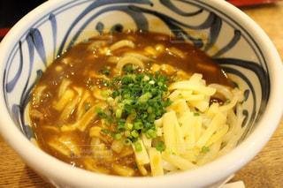 香川で食べたカレーうどんの写真・画像素材[1641392]