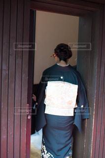 着物を着た女性の写真・画像素材[1655868]
