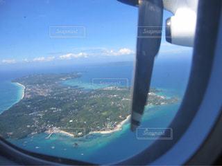 上空から見たボラカイ島の写真・画像素材[1686440]