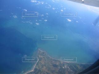 空から見たボラカイ島の写真・画像素材[1686448]