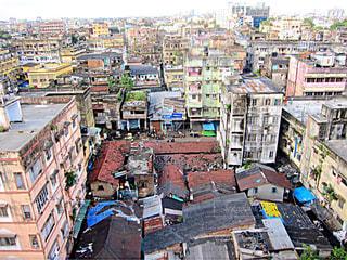 インド コルカタの街並みの写真・画像素材[1686516]
