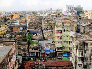インド コルカタの街並みの写真・画像素材[1691648]
