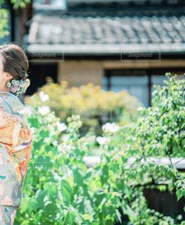 京都での前撮りの写真・画像素材[1752288]