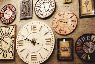 様々は時計の写真・画像素材[1791047]