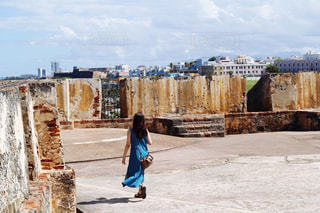 プエルトリコ エルモロ要塞の写真・画像素材[1810650]