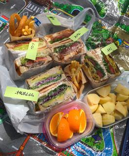 手作りサンドイッチの写真・画像素材[2027441]