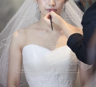 結婚式ヘアメイクの写真・画像素材[2048505]