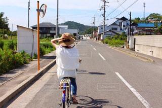 直島サイクリングの写真・画像素材[2113496]