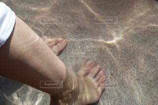 足湯の写真・画像素材[2150459]