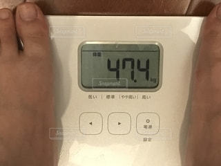 体重計の写真・画像素材[2208407]