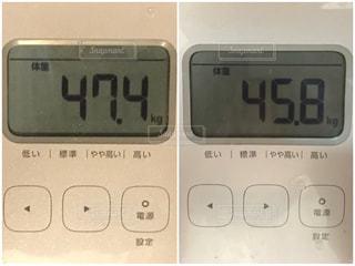体重比較の写真・画像素材[2235258]
