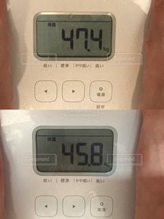 体重比較の写真・画像素材[2235259]